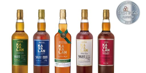 Kavalan Whiskey Tasting