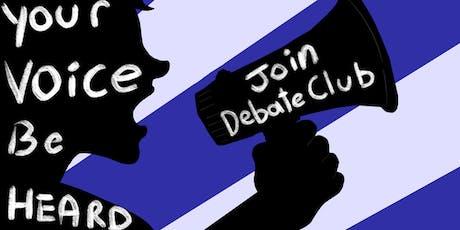 Public Speaking (Debate Club) tickets