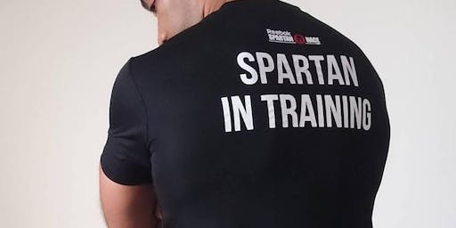 D13 Spartan Race Training 21st September Saturday 1pm -2pm