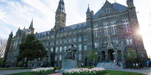 Georgetown University New Employee Orientation - October 21st