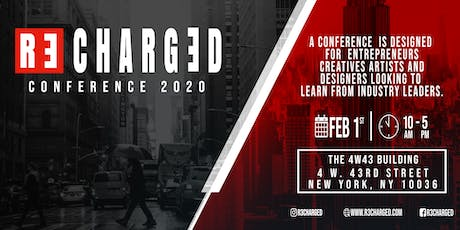 R3CHARGED CONFERENCE 2020 tickets