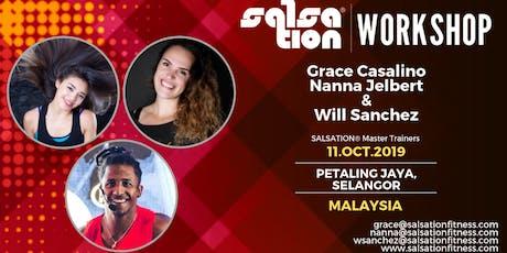 SALSATION® WORKSHOP WITH GRACE CASALINO, NANNA JELBERT & WILL SANCHEZ tickets