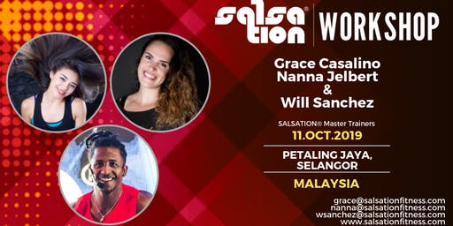 SALSATION® WORKSHOP WITH GRACE CASALINO, NANNA JELBERT & WILL SANCHEZ