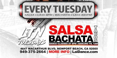 LTN Tuesday's at Legacy - Salsa and Bachata Dancing and Classes tickets
