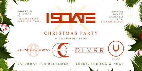 Metal Xmas Party w/ Isolate + Supports tickets