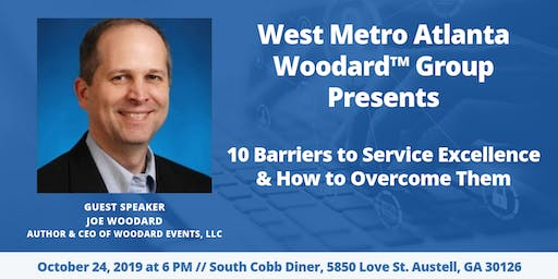 WMAW Group Networking: 10 Barriers to Service Excellence & How to Overcome Them