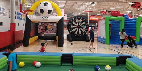 Indoor Kids Play Zone in Grapevine Mall Saturday 9-21-19 tickets