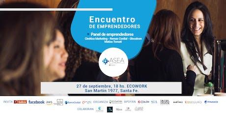 Encuentro de Emprendedores Santa Fe | SEPTIEMBRE entradas