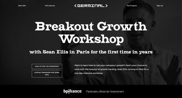 Sean Ellis visits Paris