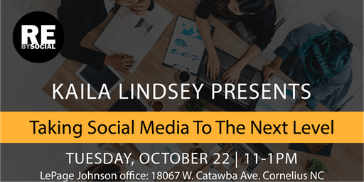 Taking Social Media to the Next Level with Kaila Lindsey