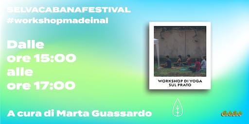 Workshop di Yoga sul prato // Marta Guassardo // Yoginiguess