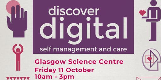 Discover Digital: self management and care (Glasgow)