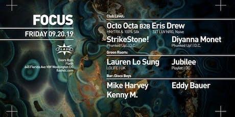FOCUS: Octo Octa b2b Eris Drew - Lauren Lo Sung tickets