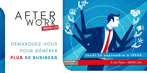 Afterwork Immobilier - 26 Septembre - Lille