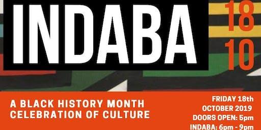 INDABA - BLACK HISTORY MONTH CELEBRATION OF CULTURE
