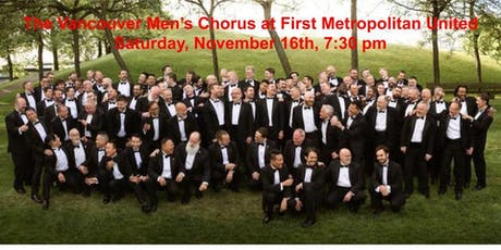 Vancouver Mens Chorus Back to Victoria by Popular Demand tickets