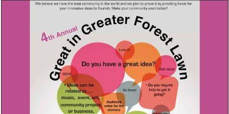 Great in Greater Forest Lawn Youth Funding event. tickets