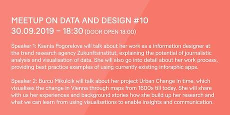 meetup on data and design #10 – Vienna | Urban City Maps & Zukunftsinstitut tickets