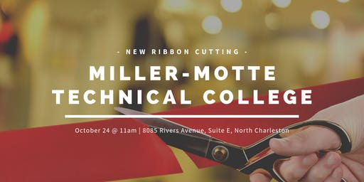 Miller-Motte Technical College Ribbon Cutting