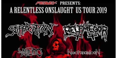 Suffocation & Belphegor - Relentless Onslaught Tour