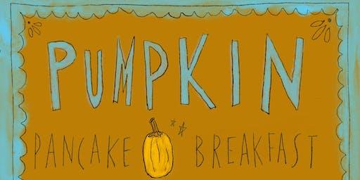 Pumpkin Pancake Breakfast