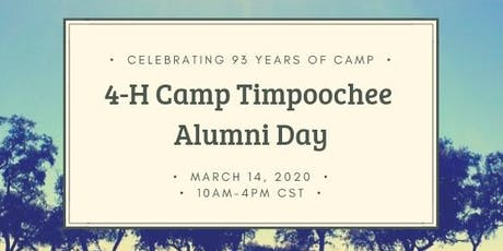 4-H Camp Timpoochee Alumni Day tickets