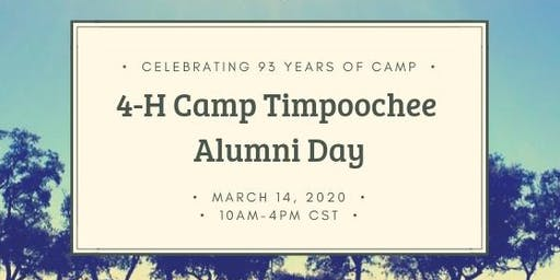 4-H Camp Timpoochee Alumni Day