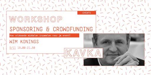 Workshop | Sponsoring & crowdfunding met Wim Konings