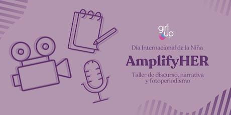 #AmplifyHER Ciudad de México boletos