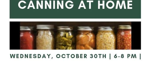 Canning at Home! with Repair The World Detroit