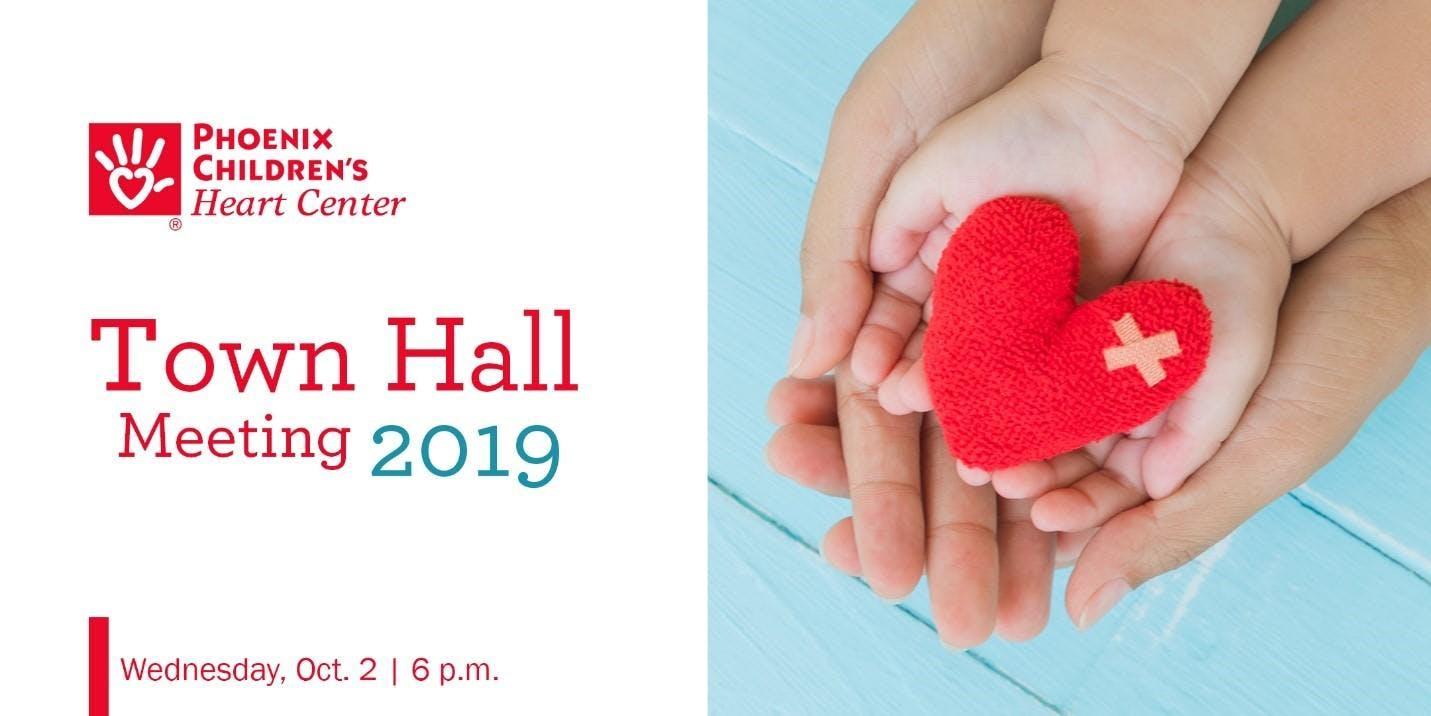 Phoenix Children's Heart Center Town Hall 2019