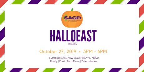 SAGE Community Block Party - HalloEast tickets