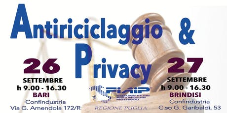 Adempimenti Pratici Antiricilaggio e Privacy per Agenti Immobiliari biglietti