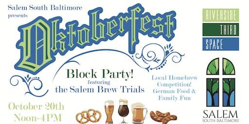 Octoberfest Featuring the Salem Brew Trials