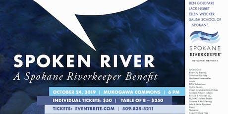 Spoken River 2019: A Benefit Supporting the Spokane Riverkeeper tickets