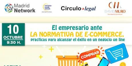 El empresario ante la normativa de e-commerce, prácticas para alcanzar el é entradas