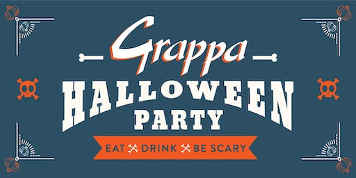 Grappa's Halloween Party