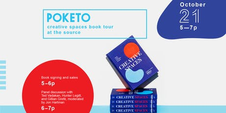Poketo: Creative Spaces Book Signing + Talk tickets