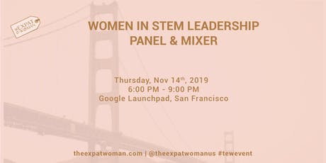 Women in STEM Leadership Panel and Mixer tickets