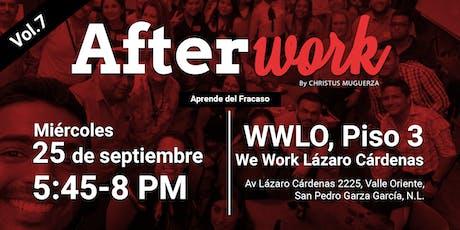 Afterwork Vol.7 |Aprende del Fracaso boletos