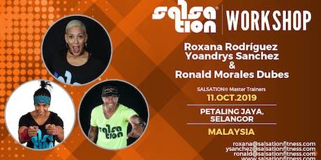 SALSATION® WORKSHOP WITH ROXANA RODRÍGUEZ, YOYO SANCHEZ & RONALD DUBES tickets