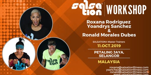 SALSATION® WORKSHOP WITH ROXANA RODRÍGUEZ, YOYO SANCHEZ & RONALD DUBES