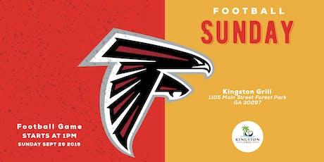 Falcons vs Titans at Kingston Grill tickets