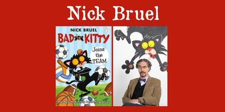 "Nick Bruel - ""Bad Kitty"" tickets"