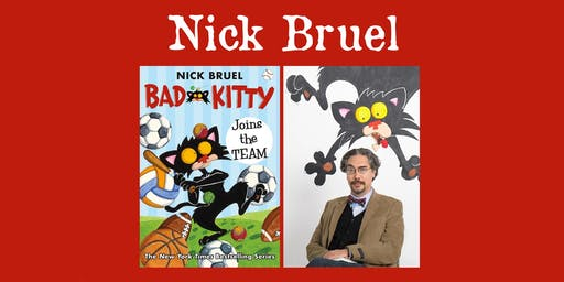"Nick Bruel - ""Bad Kitty"""