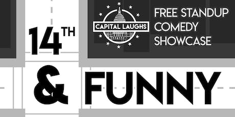 14th & Funny - Saturday (Stand-Up Comedy) tickets