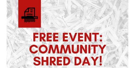 Free Community Shred Day! tickets
