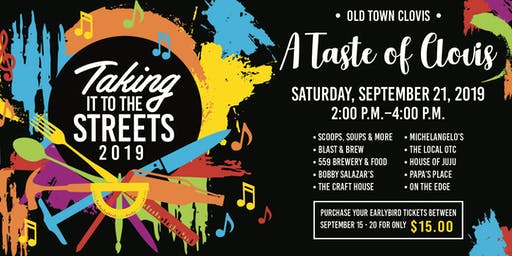 A Taste of Clovis - Taking it to the Streets 2019