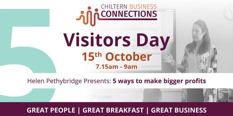 Chiltern Business Connections - Visitors Day tickets