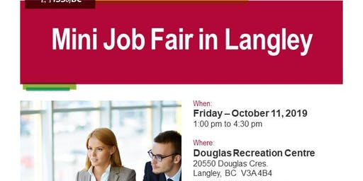 Mini Job Fair in Langley